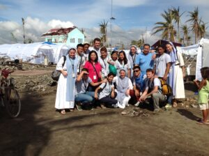 2013 – Started the mission in Tacloban